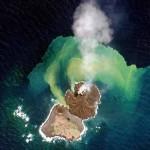 Insulă vulcanică nouă, de lângă coasta Japoniei creşte nebuneşte