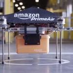 Amazon testează drone elicoptere pentru livrări