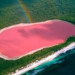 Hiller, lacul roz din Australia
