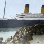 """Imaginile Titanicului restabilite: Fotografii a corabiei """"Titanic"""" în culori noi"""