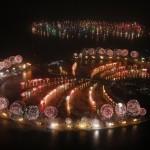 Focuri de artificii: Dubai a început anul 2014 cu un nou record