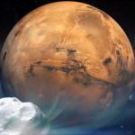 Cometa Siding Spring de mărimea unui munte va trece foarte aproape de Marte