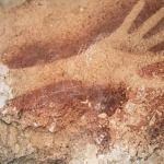 picturi-rupestrsablon-maina