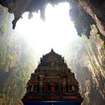 Poză, din complexul de temple şi peşteri din Batu Caves