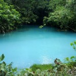 Râul Celeste din Parcul Naţional Tenorio, Costa Rica