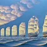 25 Iluzii optice uimitoare pictate de Rob Gonsalves, care vă vor schimba percepţia