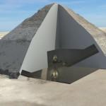 Interiorul piramidei dezvăluit prin utilizarea razelor cosmice