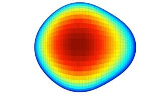 Atom cu nucleu în formă de pară