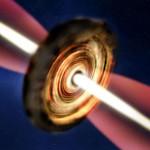 Recent astronomii au captat şi observat formarea unei stele masive rare