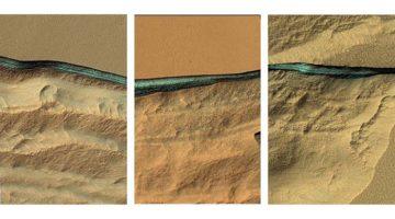 Rezerve uriașe de apă au fost găsite pe toată planeta Marte