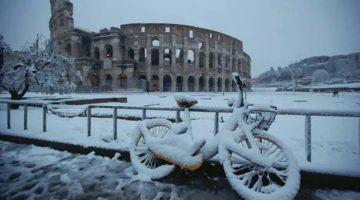 Scăderea temperaturilor Europa