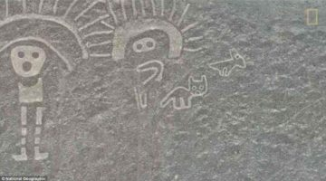 Noile linii Nazca descoperite recent, au stat ascunse în deşert timp de mii de ani