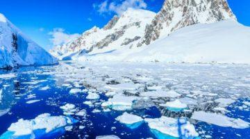 Gheaţa antarctică se topeşte