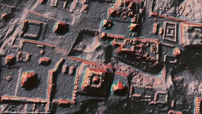 Structuri ale civilizaţiei Maya ascunse