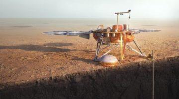 Sonda InSight a aterizat pe Marte