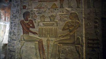 Un cavou deosebit descoperit în Egipt