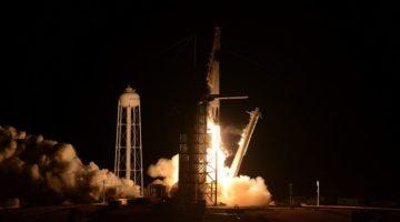 Lansarea navei spaţiale Crew Dragon