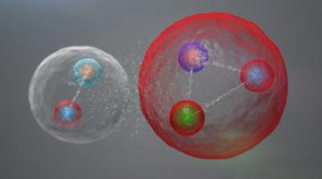Particule ce conţin cinci quarci