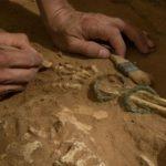 Excavații la un cimitir filistean
