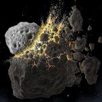 Coliziune asteroid ce a dus la epocă glaciară pe Pământ