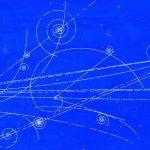 Mişcarea particulelor în camera cu bule