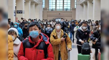 Noul coronavirus gara din Wuhan