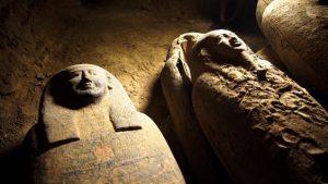 Sarcofage noi descoperite în Egipt